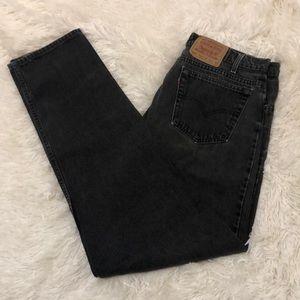 black 550 levi's